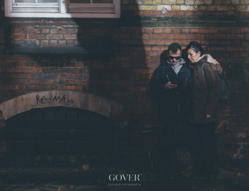 Fotos de pareja en Londres | Esti & Bernar