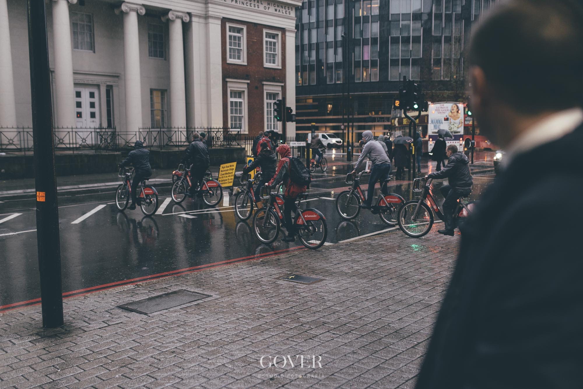 Postboda en Londres